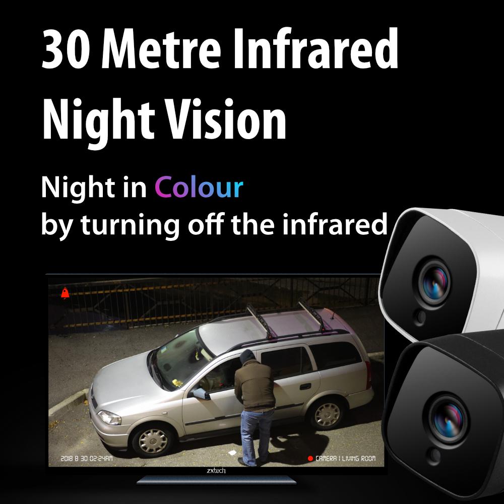 best night vision outdoor cctv camera