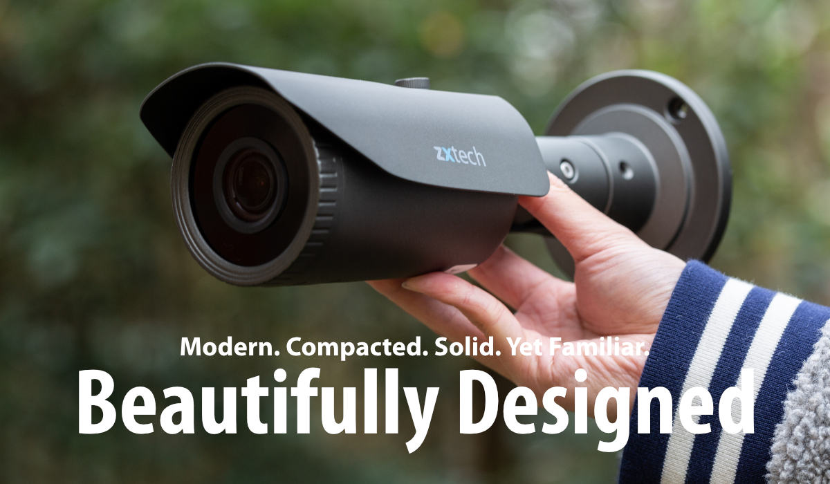 Zxtech 4x 5MP Varifocal Audio 60M IR Cameras 4CH NVR PoE CCTV System | FP4H4X