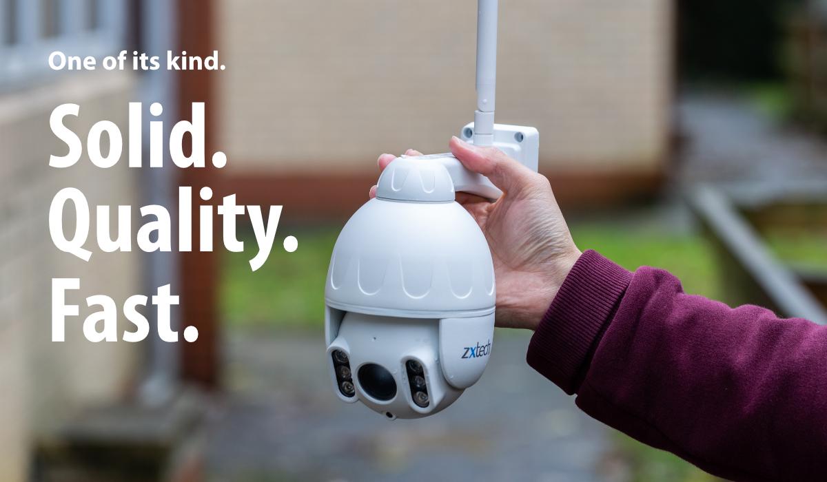 compact wireless speed dome camera