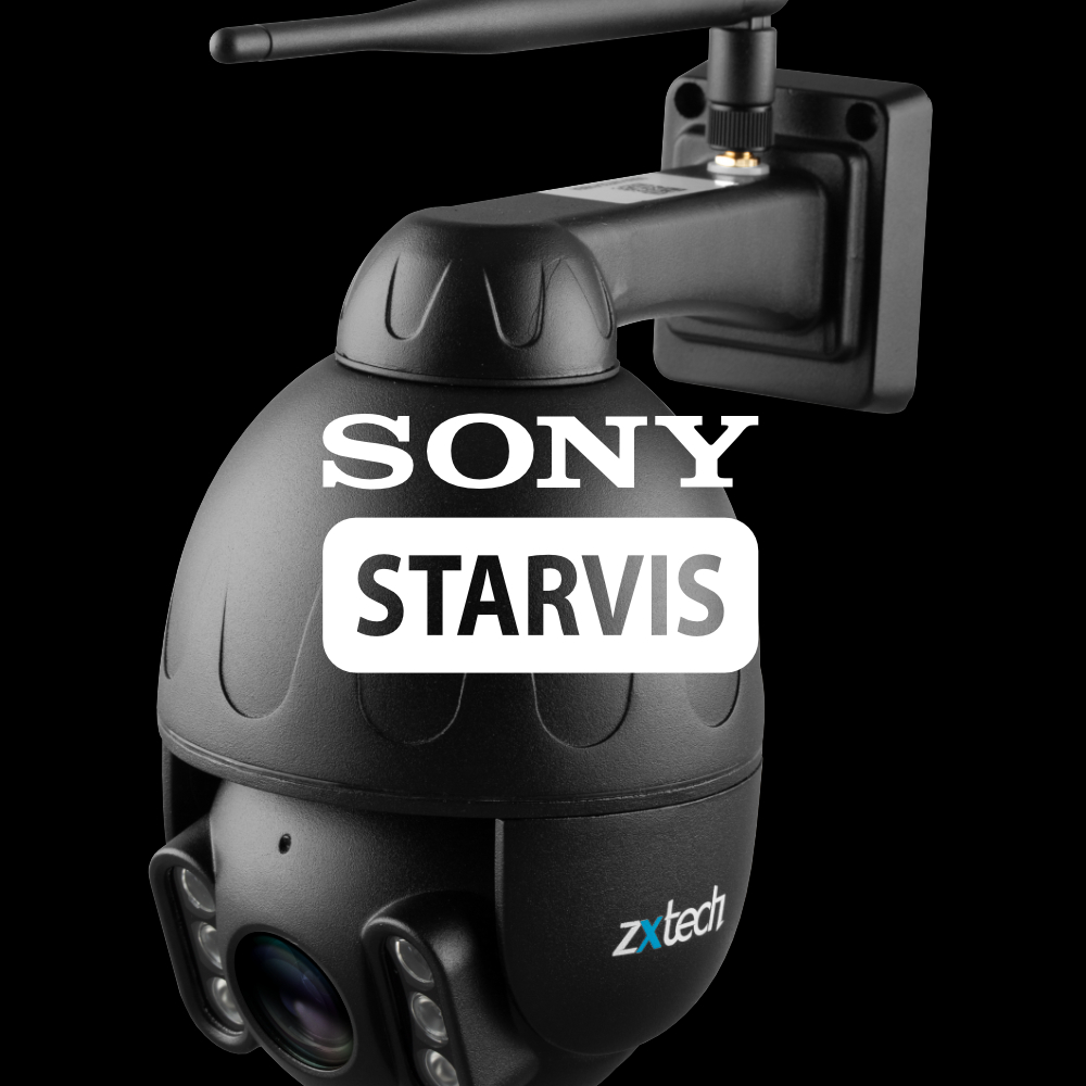Sony Chip Starvis speed dome camera
