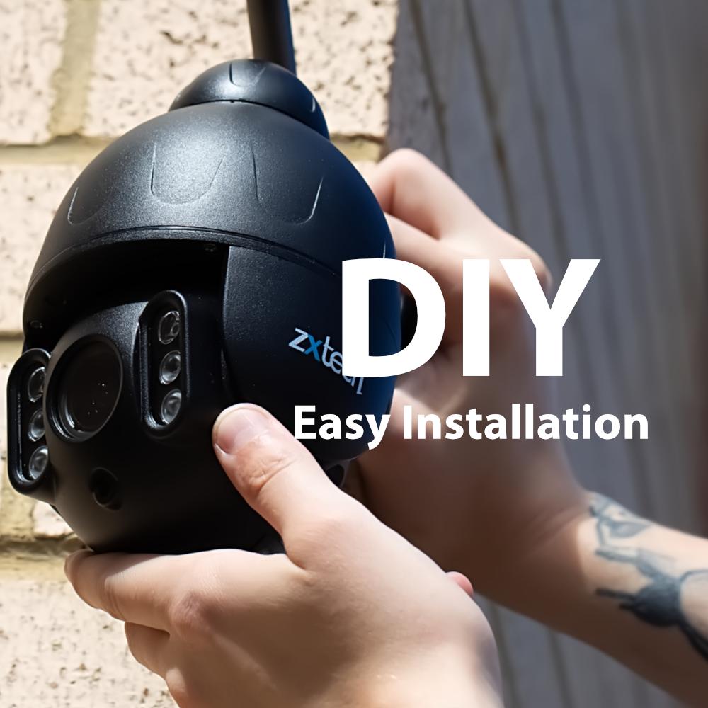 DIY easy ptz camera system