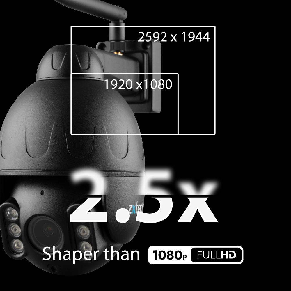 5MP Super HD wifi ptz camera
