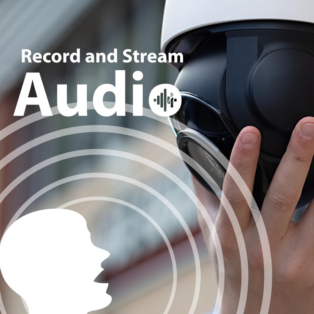 Audio Zxtech 5MP 20x Zoom PTZ Wireless PoE 3-in-1 IP CCTV Camera Tropox Max MCPWD52S