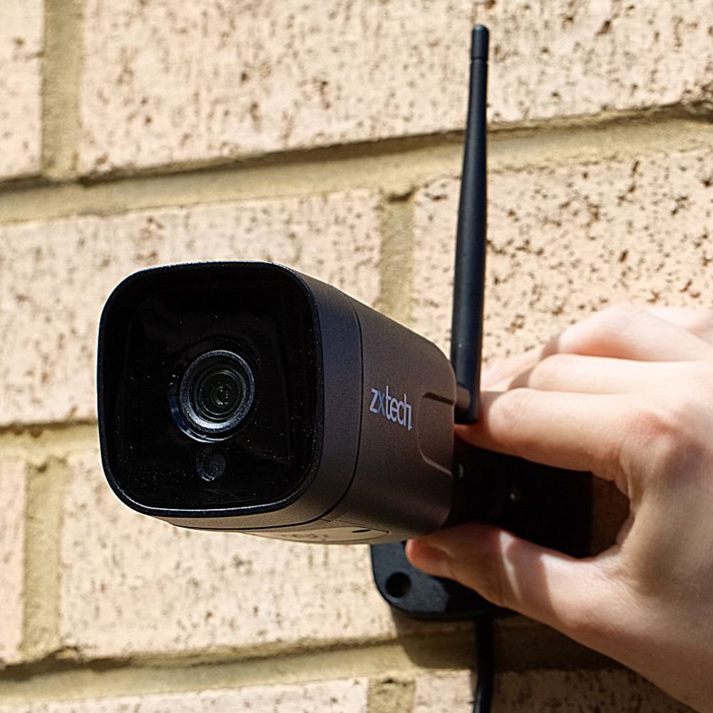 Sony Chip Starvis wireless security cameras outdoor uk