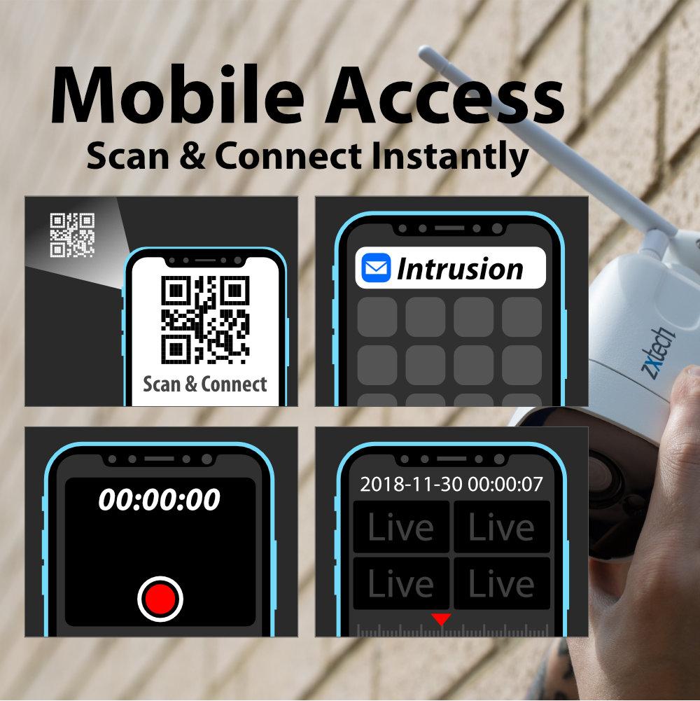 Remote Access outdoor cctv camera UK