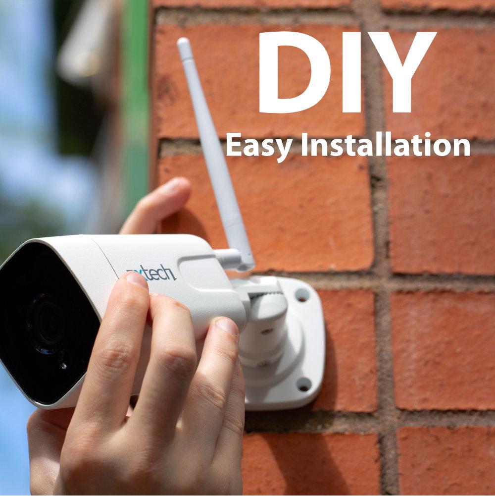DIY best outdoor security cameras uk