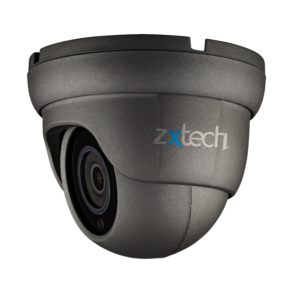 Zxtech 7 x 5MP Compact Size Audio SD Card Slot Sony Chip PoE Security Camera System UK 8CH NVR | FP7D8Y