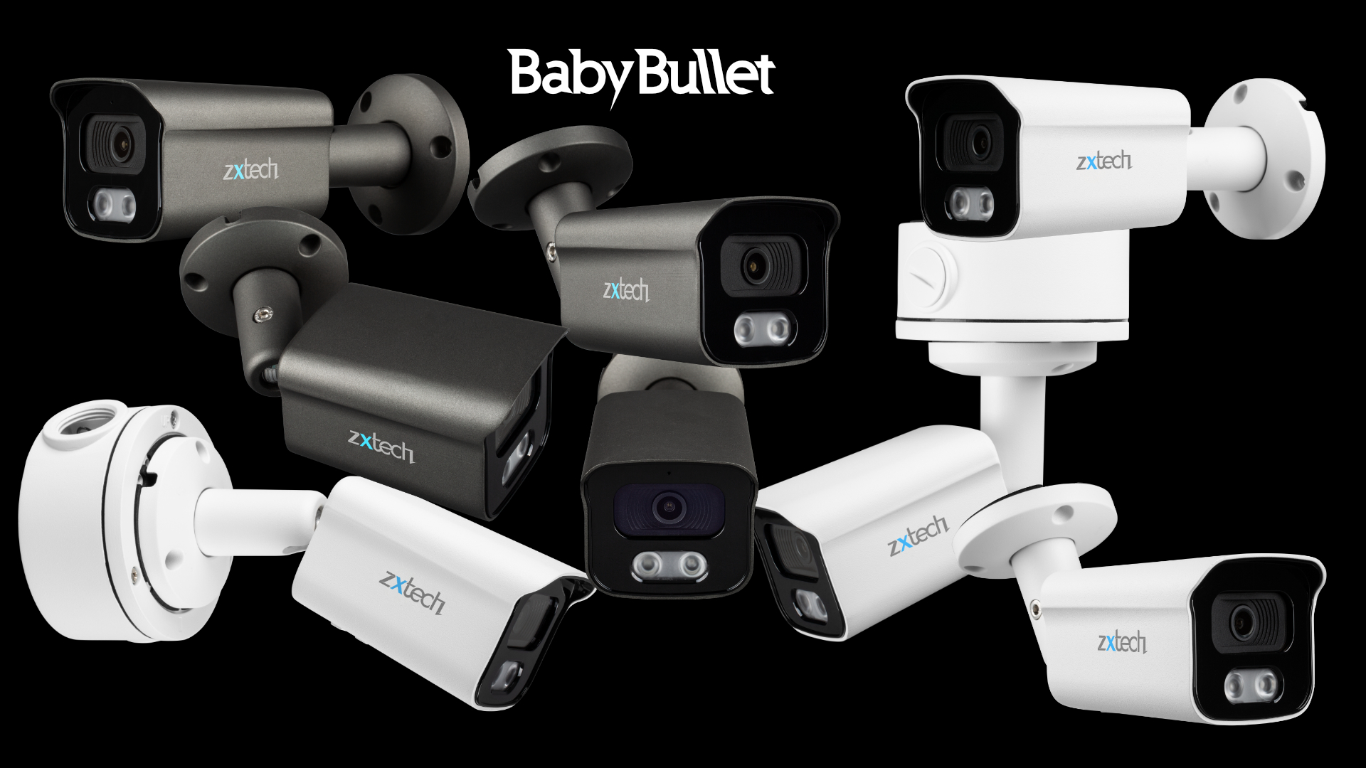 4K Complete System Face Detection Outdoor IP67 Auto Zoom | Zxtech | RX6C9Y