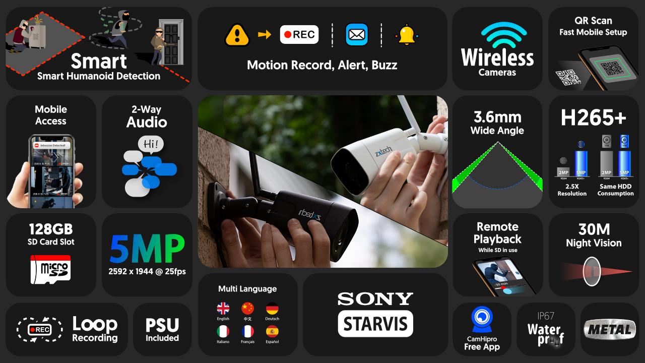 2 way audio best outdoor security cameras uk