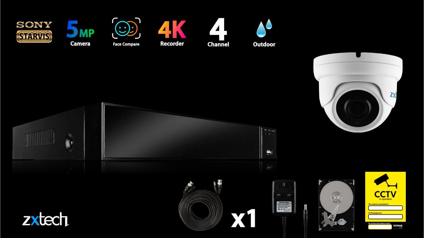 5MP AHD CCTV Kit Super HD CCTV DVR HD Analog Camera Analog | AF1A4Z