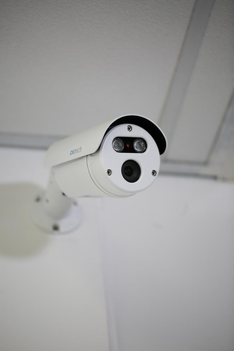 Bullet CCTV Camera installed
