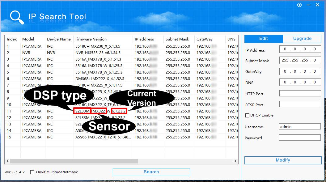 IP System Firmware Updates - Domar CCTV